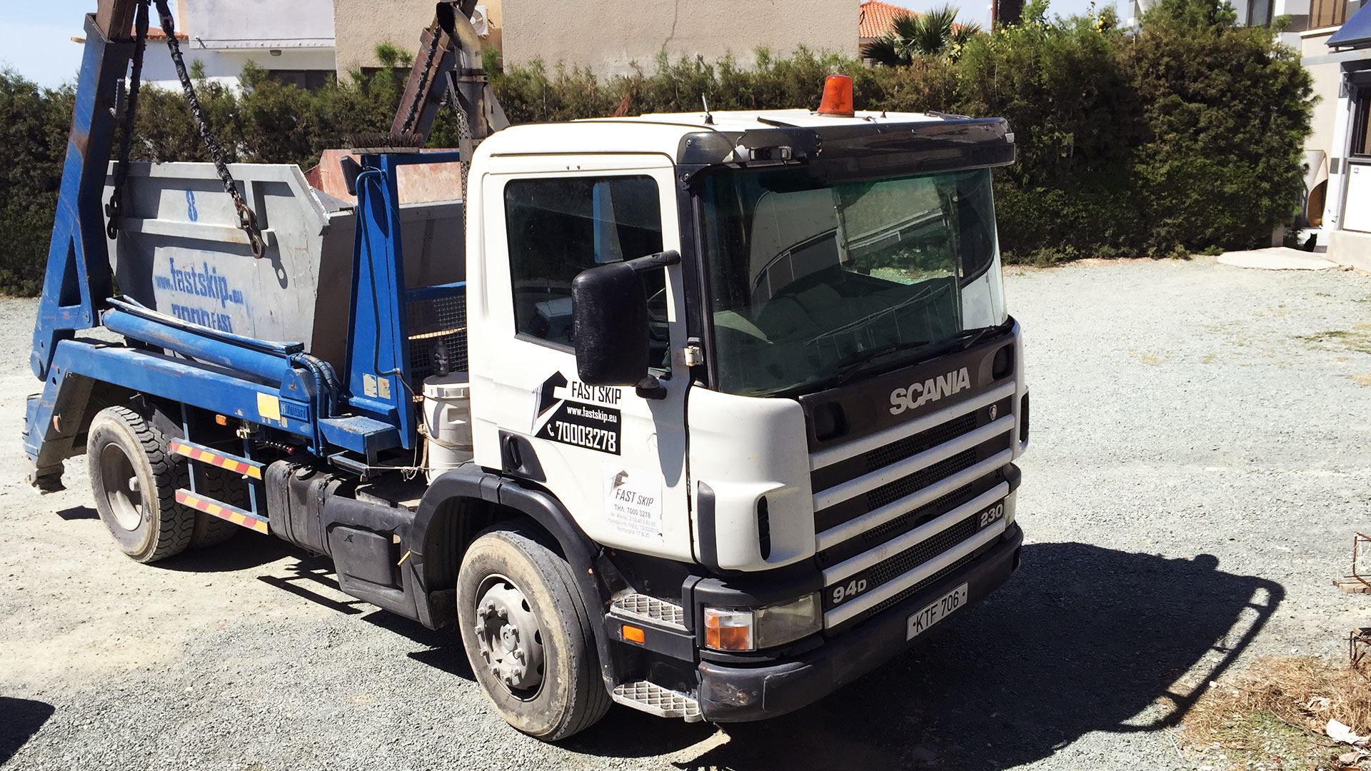 Skip Hire Services Cyprus | Fast Skip